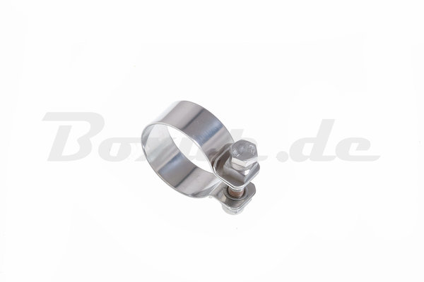 Edelstahlschelle 35mm / Stainless steel clamp 35mm Nr. 114003